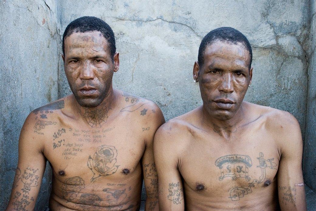 Южноафриканские тюремные банды и их татуировки. Изображение № 4.