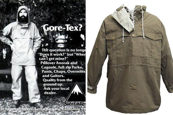 Реклама Sierra West. Анорак времен Второй мировой войны. Изображение №3.