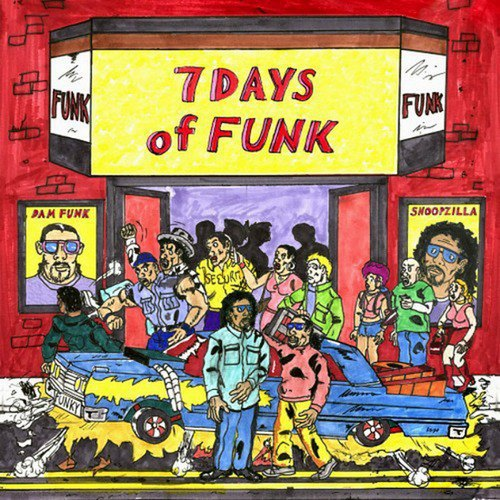 Снуп Догг и Dâm-Funk опубликовали обложку и треклист совместного альбома. Изображение № 1.