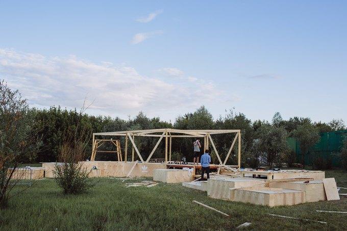 Фоторепортаж: Строительство объектов фестиваля Outline. Изображение № 16.