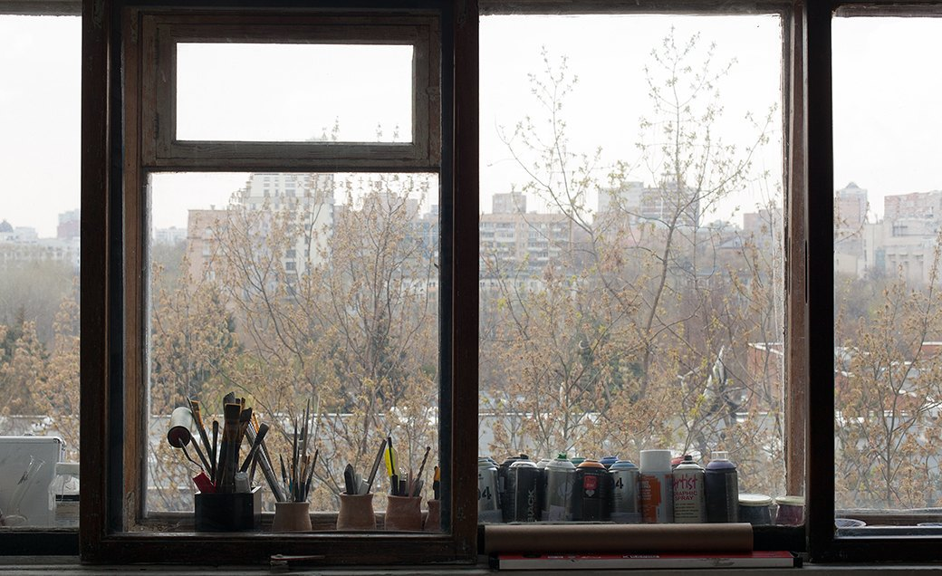 Дом культуры: Молодые московские художники и их мастерские. Изображение № 26.
