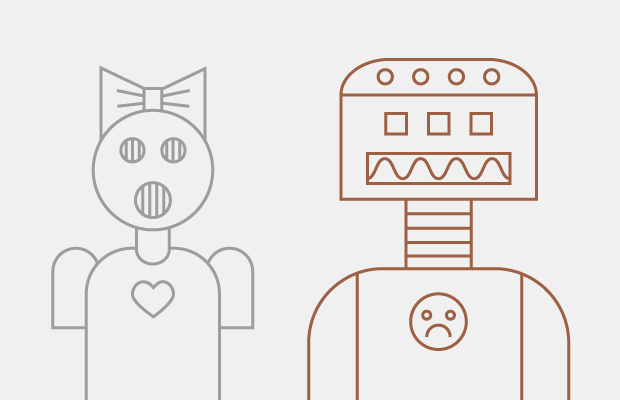 Why do we find some robots cute and others creepy? — Question на Hopes&Fears