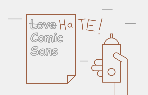 Why does everyone hate comic sans? — Question на Hopes&Fears