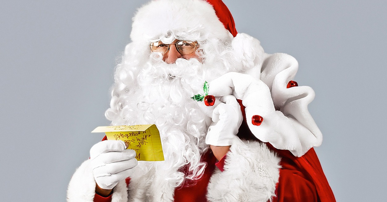 How a modern Santa gears up for Christmas