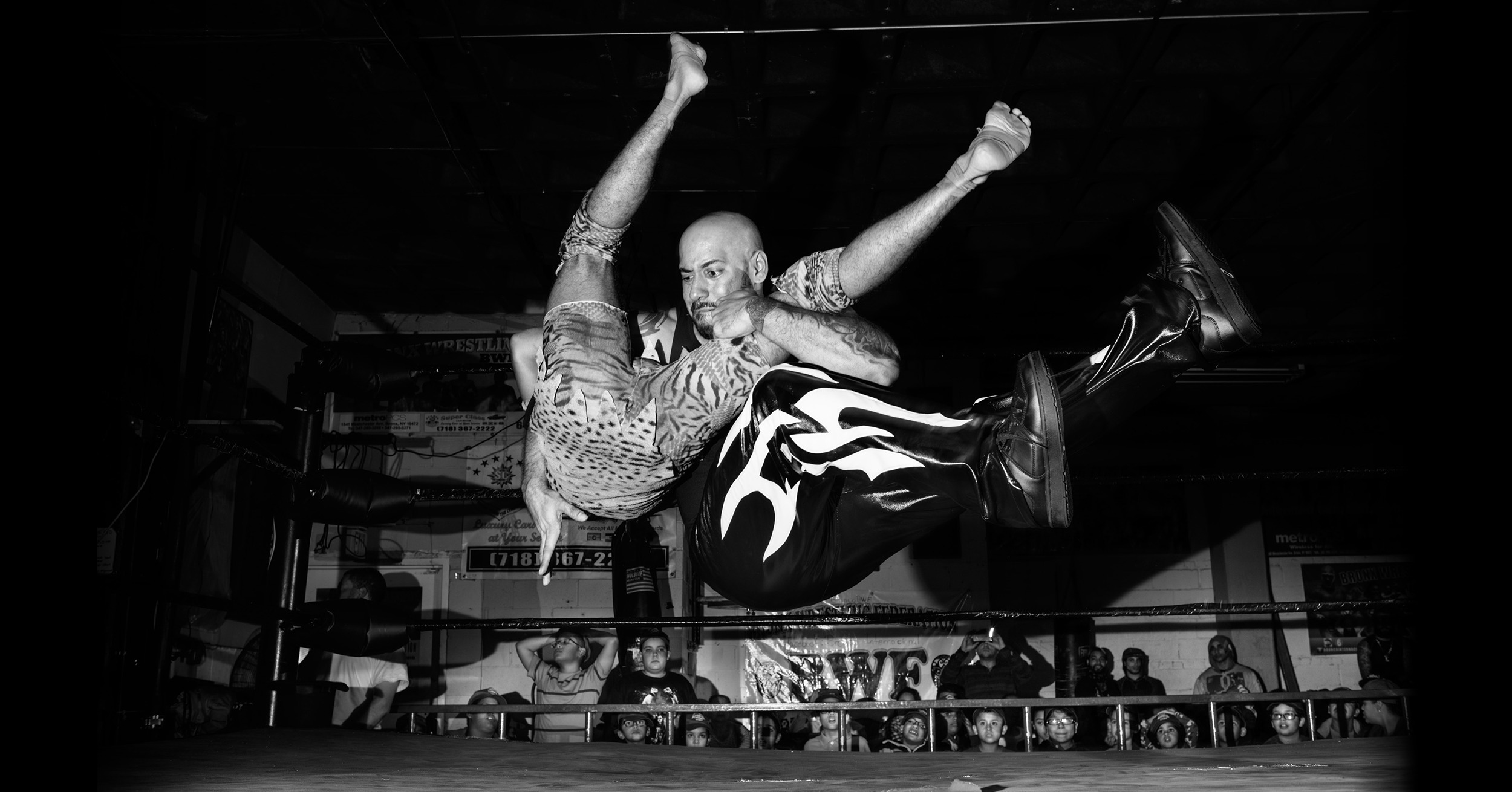 The lucha libre fighters of the Bronx