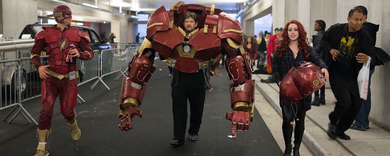 Meet the cosplay handlers, unsung heroes of Comic Con