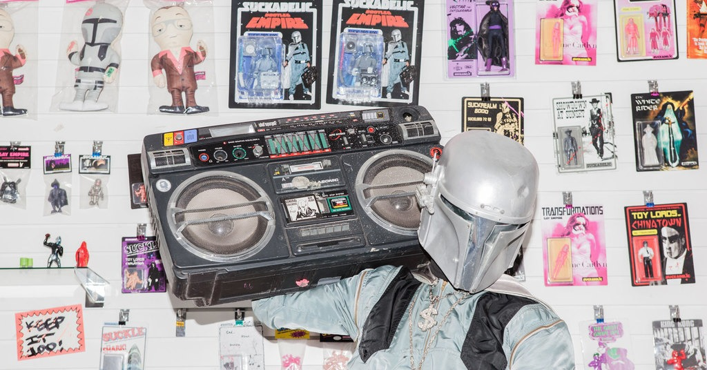 The appropriation artist who can't get George Lucas to sue him