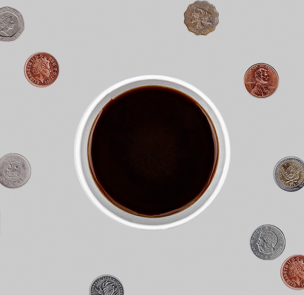 What is the cost of a grande cup of black coffee around the world? — City Index на Hopes&Fears