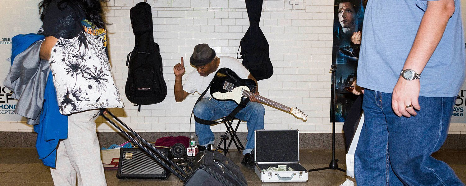 Is busking on the NYC subway more lucrative than streaming on Spotify?