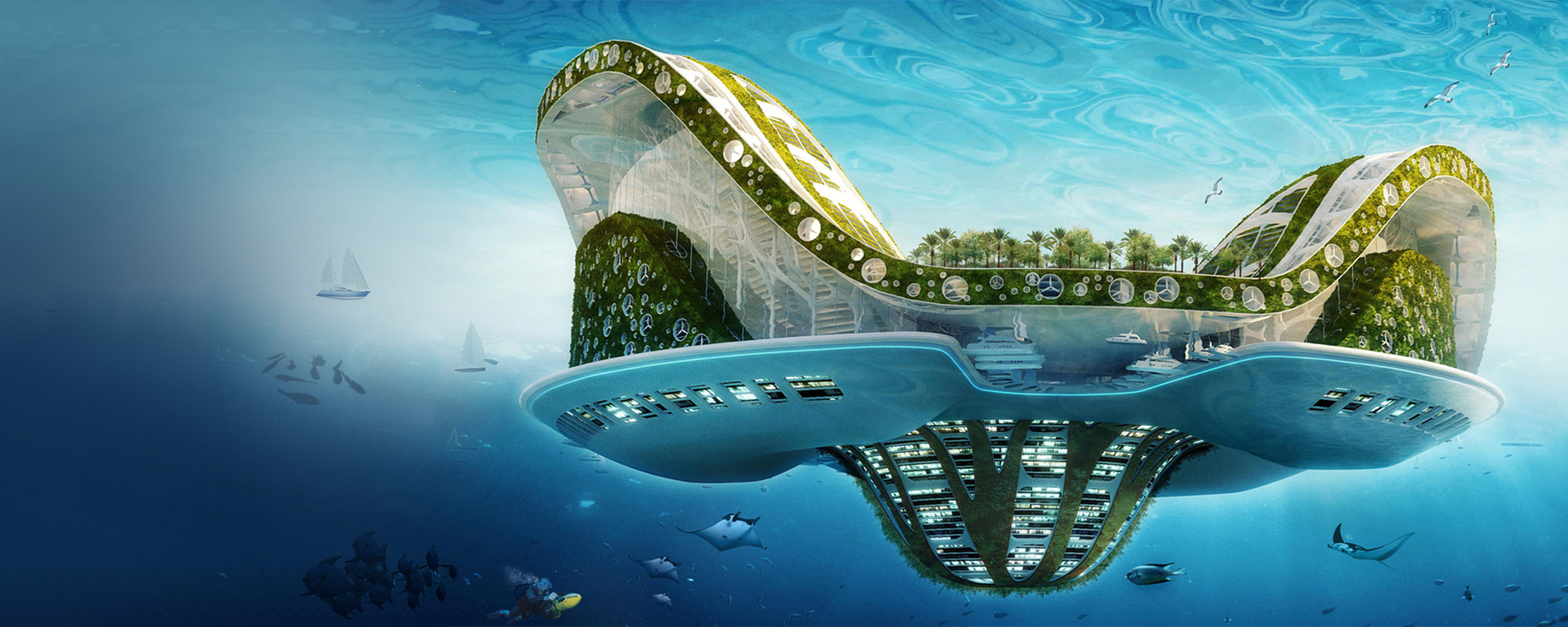 Solarpunk wants to save the world
