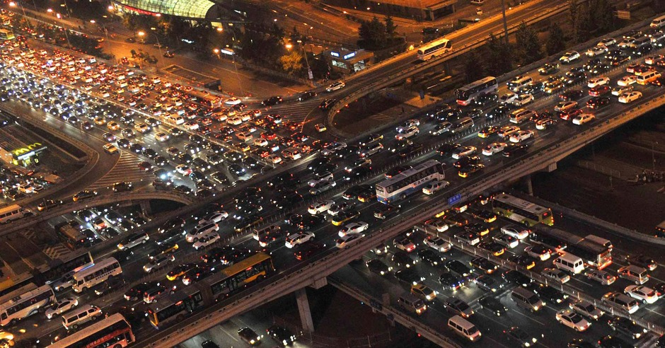 Which cities around the world have the worst traffic?