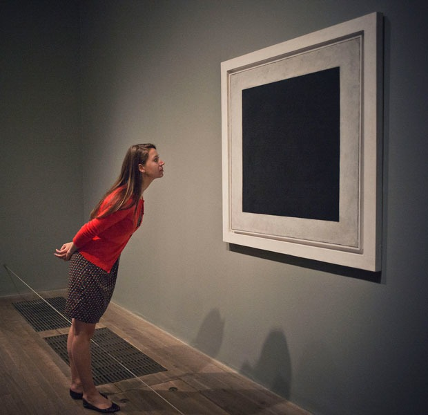 Racist conceptual joke discovered in Malevich's Black Square — Art на Hopes&Fears