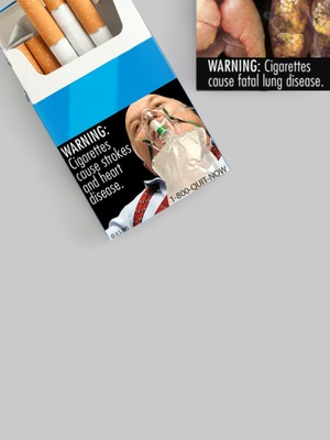 Are graphic warning labels effective at keeping people from buying cigarettes?