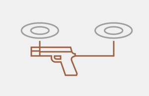 Is a gun-firing drone legal under the Second Amendment?