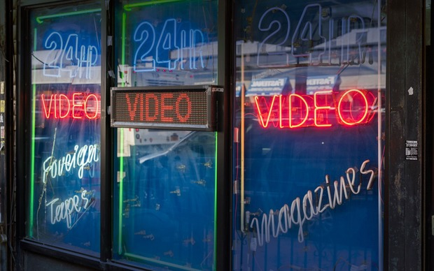 The last porn theaters in the age of the internet
