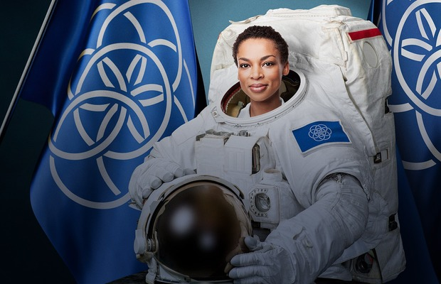 """How does this """"International Flag of Planet Earth"""" compare to those in science fiction?"""