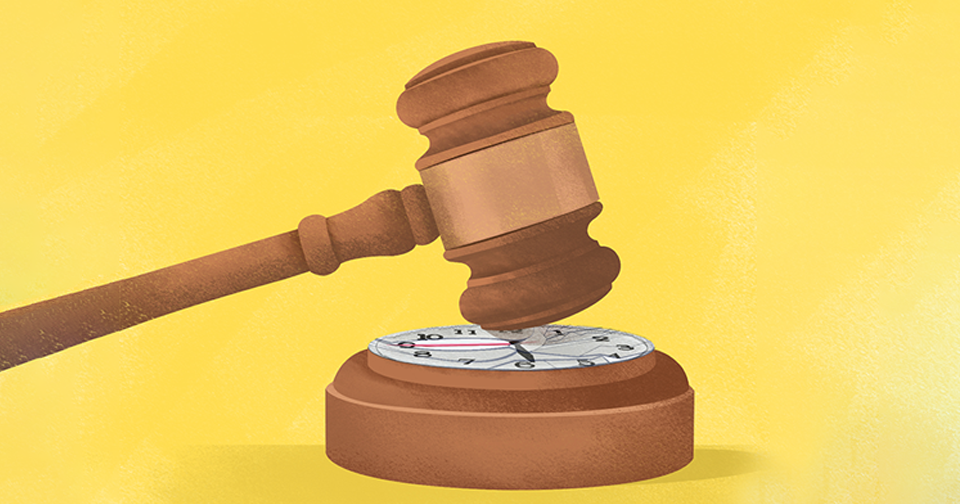 How long does it really take to reach a verdict for a crime?