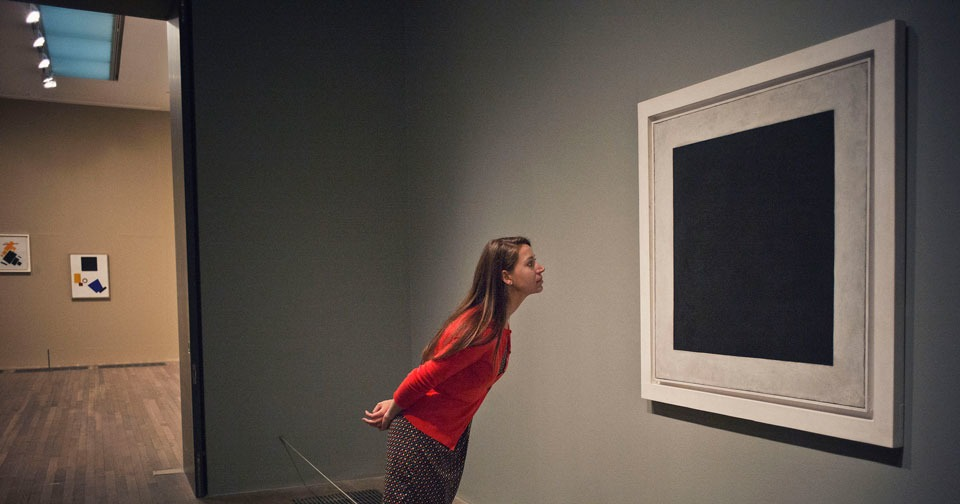 Racist conceptual joke discovered in Malevich's Black Square