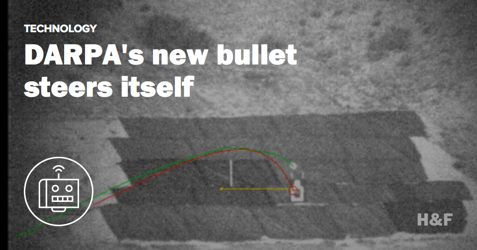 This is the US military's new self-steering bullet