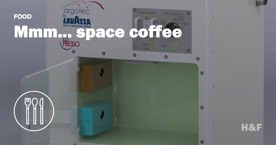 Two sugars and a milky way: SpaceX is flying a coffee machine to the space station