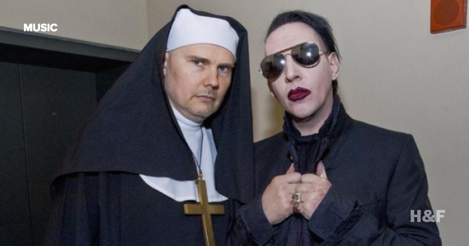 Watch Billy Corgan (dressed as a nun) and Marilyn Manson sing 'Girls Just Wanna Have Fun'