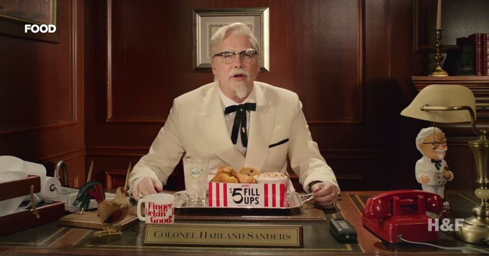KFC wants you to hate their ads with Norm Macdonald