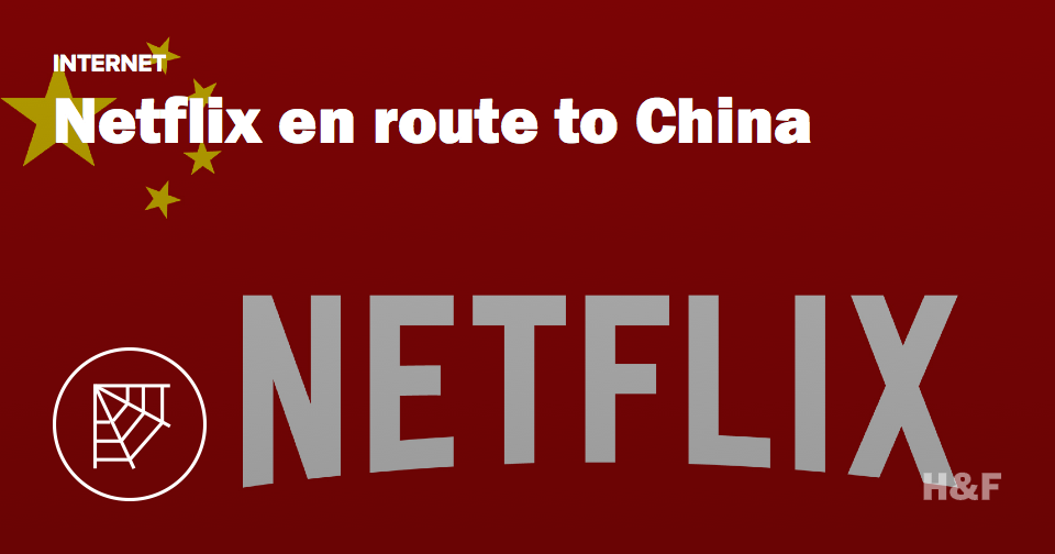 Netflix is making its way into China