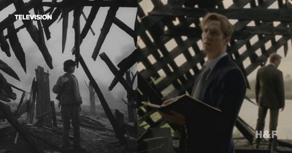 Nice try with this supercut of True Detective's movie references