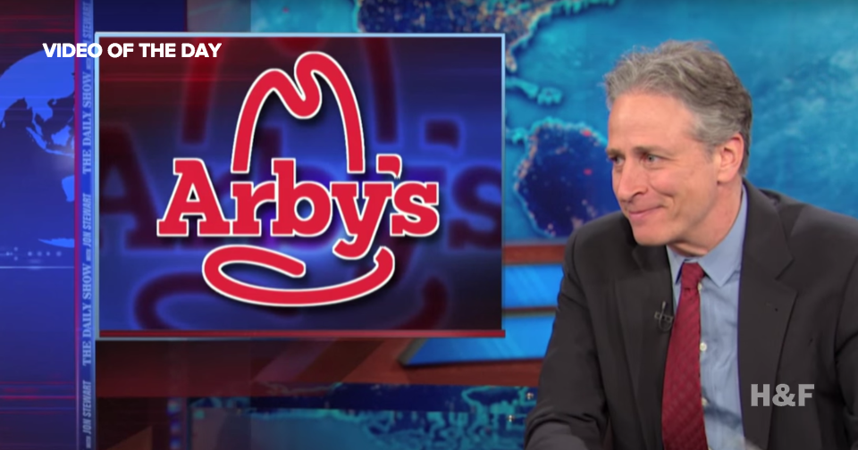 Arby's says goodbye to Jon Stewart with some humorous ads