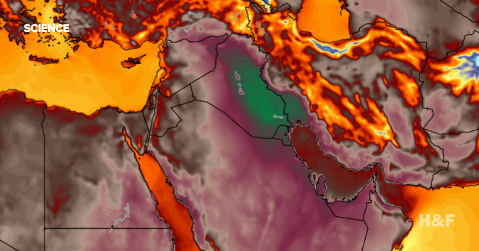 In this Iranian city, it feels like 165 degrees outside