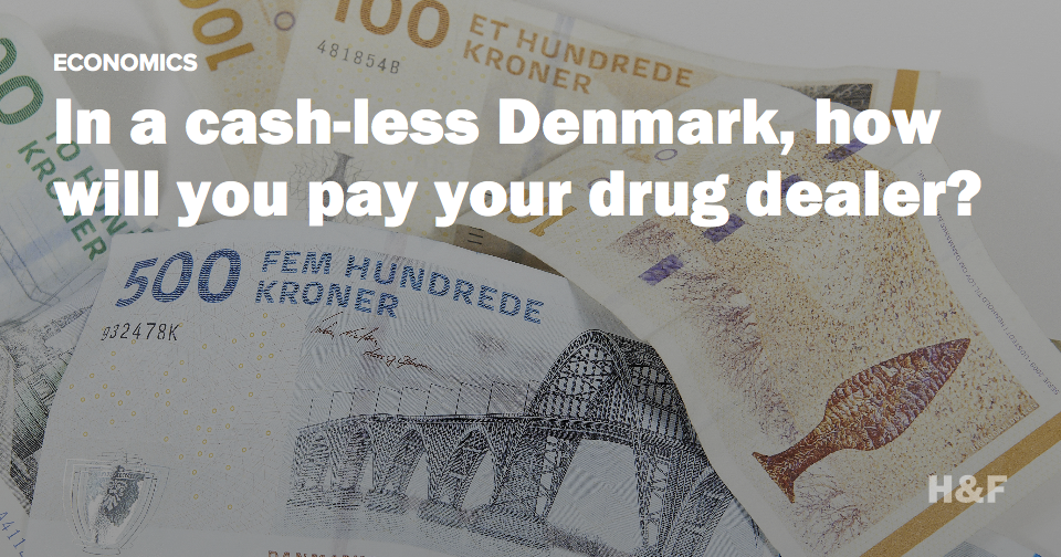 Denmark might be eliminating paper money