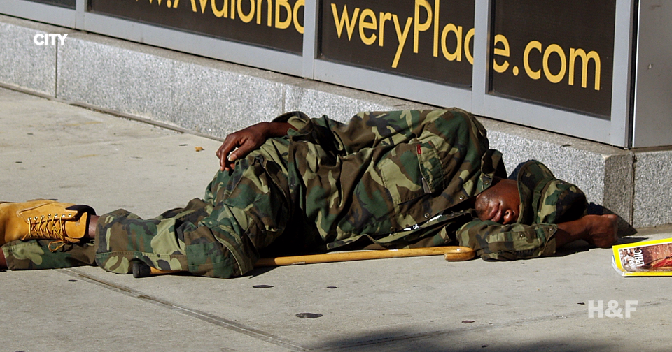 The NYPD has taken to shaming homeless people on Flickr