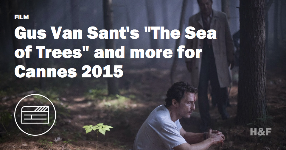 The Cannes Film Festival announces 2015 line-up