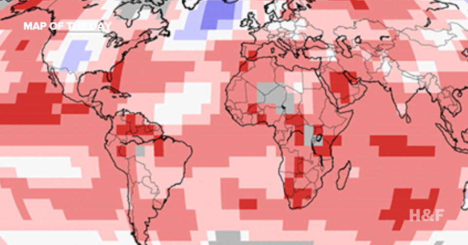 We are currently experiencing the hottest year in history