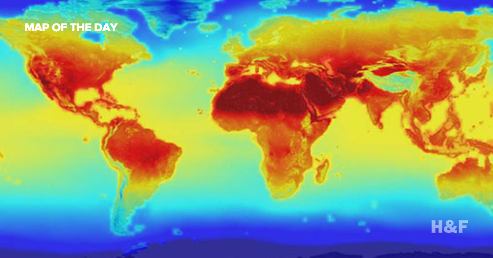 NASA releases global climate projections for 2100