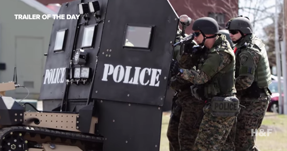 Watch the trailer for 'Peace Officer,' a new documentary on US police militarization