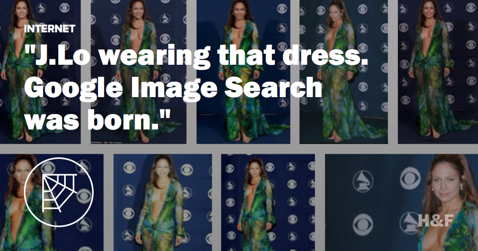 That J.Lo dress is the reason Google Image Search is a thing