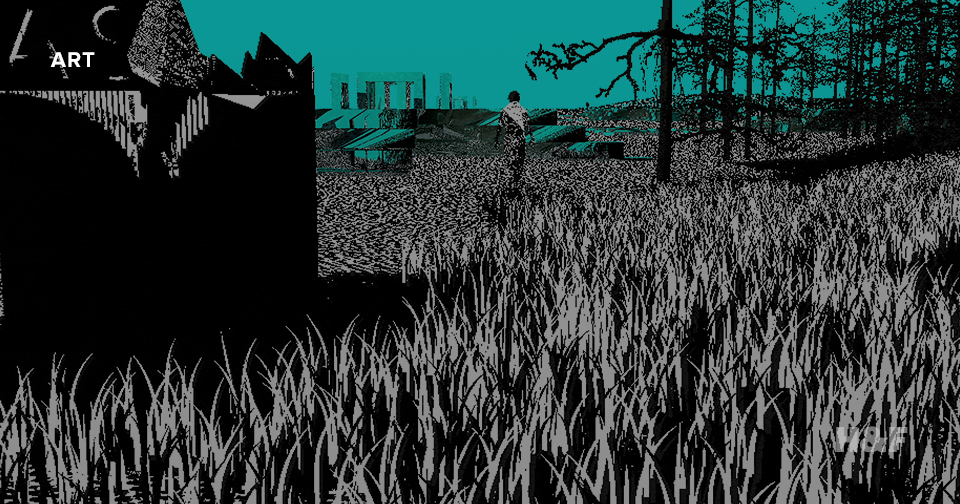 "If Tarkovsky made video games: inside Peter Burr's surreal, ""Stalker""-inspired animation cube"