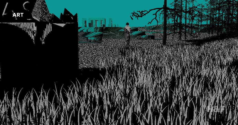 "If Tarkovsky made video games: inside Peter Burr's surreal, ""Stalker""-inspired animation cube"