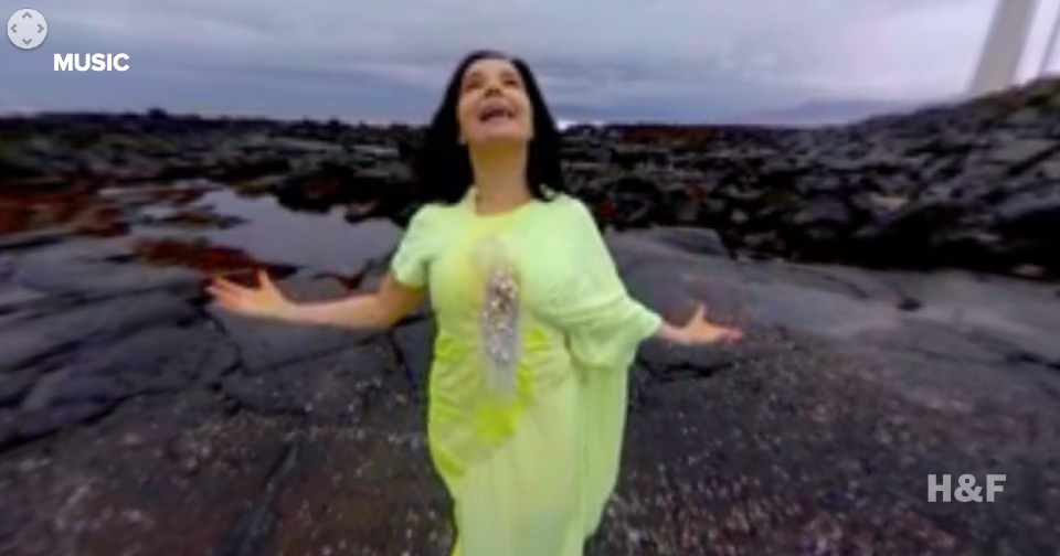 Check out 360-degrees of Bjork
