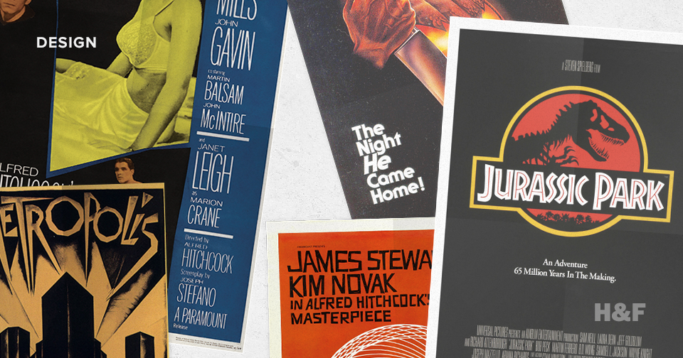 From Psycho to Jurassic Park: exploring iconic movie poster typography