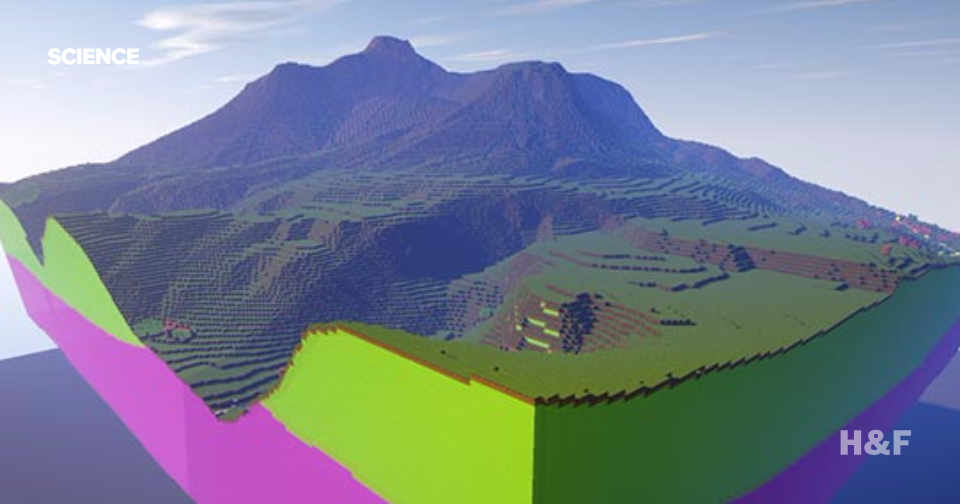 Walk through these stunning British landscapes built in Minecraft