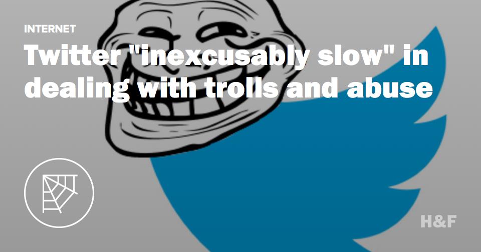 Twitter has a troll problem