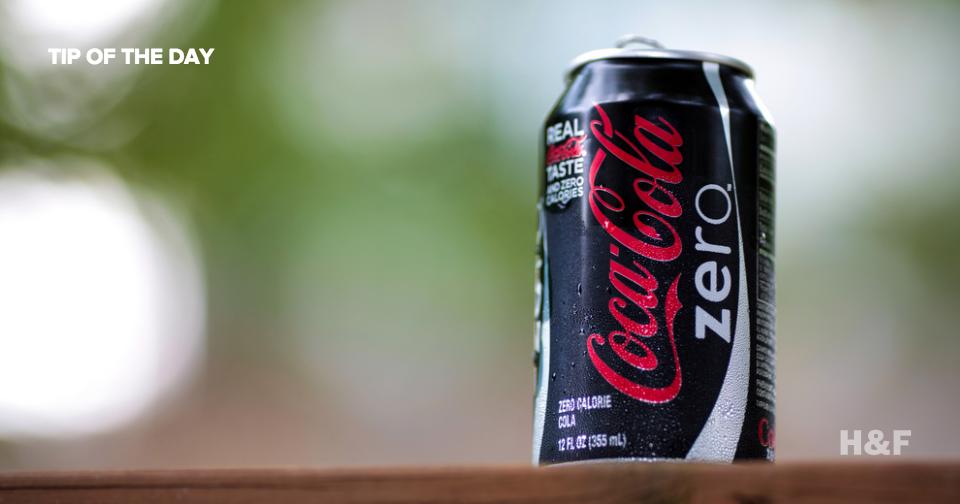 Drink more Diet Coke: science says real sugar is more dangerous than artificial sweeteners