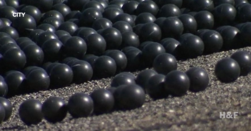 California reservoir is using millions of black shade balls to prevent water evaporation