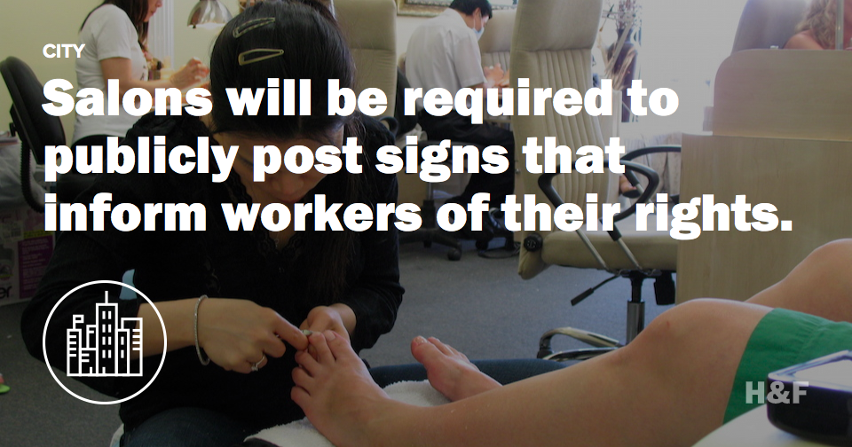 After NYT expose, NY Governor vows to fix the ethical nightmare of nail salon labor practices