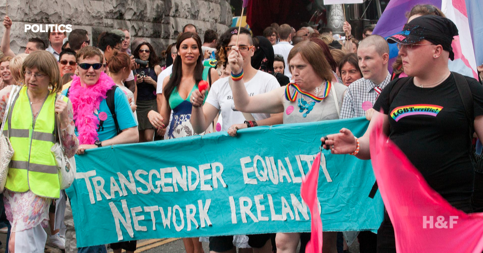 Ireland lets transgender people determine their own legal gender