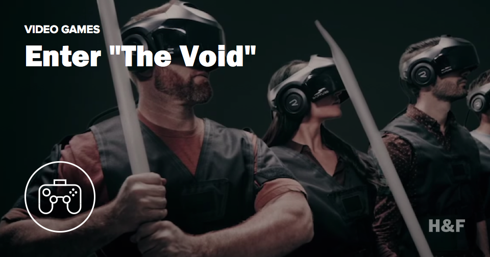 The world's first virtual reality theme park looks awesome