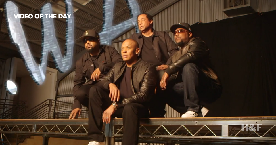 Watch Kendrick Lamar interview N.W.A.