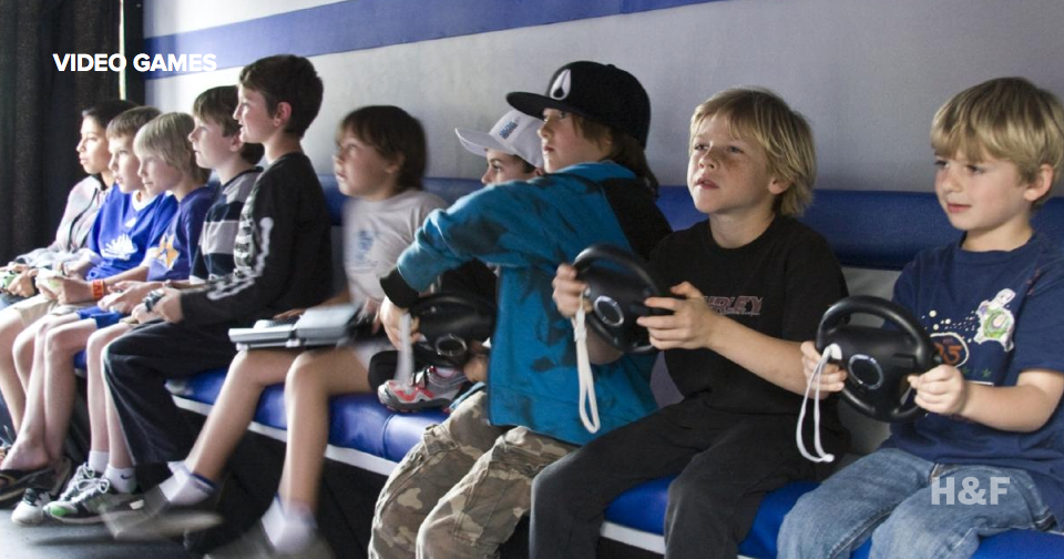 Playing video games is exercise, or at least one in four kids thinks so